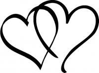 Billede af hjerter